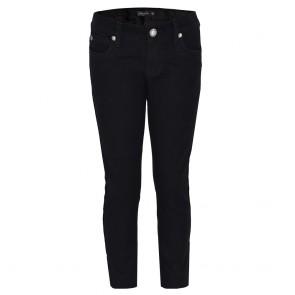 Tüdrukute stretchpüksid, mustad