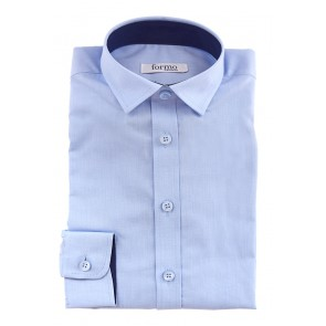 Рубашка для мальчиков, голубая - Предварительный заказ!