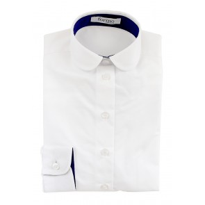 Блузка для девочек, белая - Предварительный заказ!